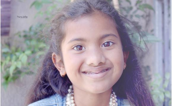 Frozen ……Tharaa turns 7 !