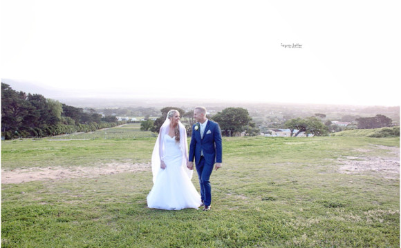 Bernard and Leatitia . Noordhoek, Cape Town