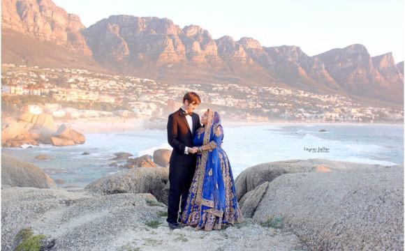 Eisa and Shakira. Cape Town